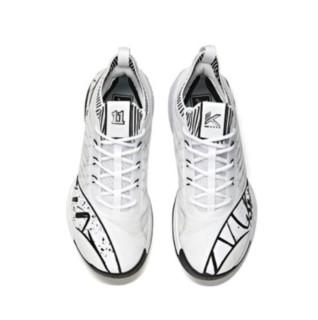 ANTA 安踏 KT6 男子篮球鞋 112121102-5 黑白 39