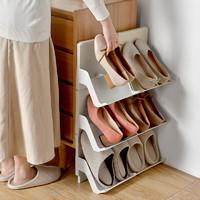 BELO 百露  可叠加立式鞋架 白色单个