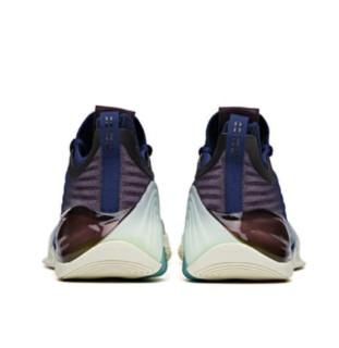 ANTA 安踏 KT6 男子篮球鞋 112121102-8 绀青蓝/加仑紫 42.5