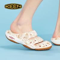 KEEN 21新品科恩xTHC联名款男士沙滩鞋防滑舒适洞洞鞋夏季溯溪鞋