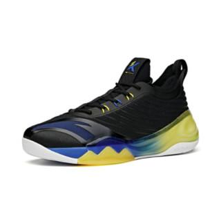 ANTA 安踏 KT6 男子篮球鞋 112121102-4 黑蓝 43