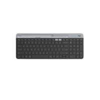 logitech 罗技 K580 双模无线薄膜键盘 黑色 无光