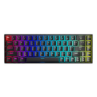 AULA 狼蛛 F3068 午夜霓虹 RGB 双模蓝牙机械键盘 68键
