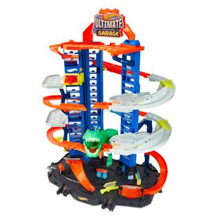 Hot Wheels 风火轮 轨道玩具赛车赛道套装-无敌终级汽车广场GJL14