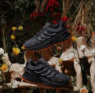 LI-NING 李宁 溯系列 脊 男子休闲运动鞋 AGLR049-2 冷檀黑 43.5