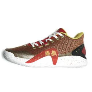 XTEP 特步 林书豪一代 德胜门 男子篮球鞋 979119120008 红色 39