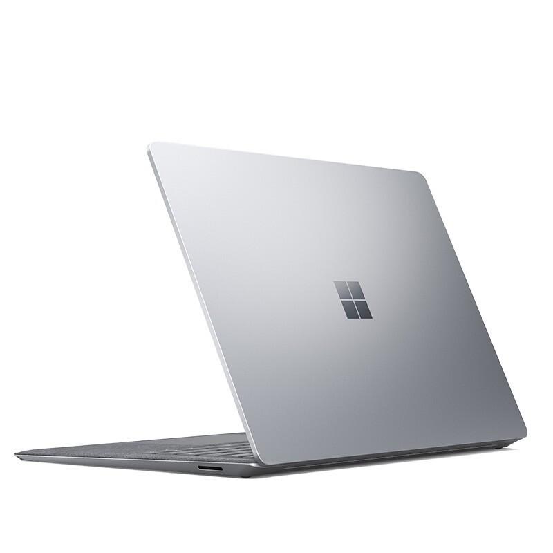 Microsoft 微软 微软Surface Laptop 4 商用版 英特尔11代i5 8G+256G 13.5英寸触屏 亮铂金 轻薄本 2K高色域 Win10Pro+3年保
