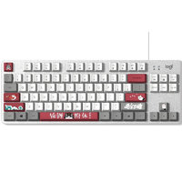 logitech 罗技 吾皇万睡系列 K835机械键盘 84键 TTC轴