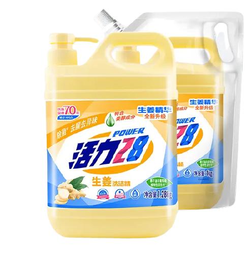 活力28 生姜洗洁精 1.28kg+1kg/袋