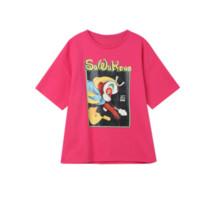 elf sack 妖精的口袋 大闹天宫联名系列 女士短袖T恤 1110_AL5023