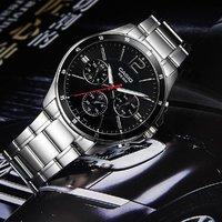 CASIO 卡西欧 MTP-1374D-1AVDF 男士石英手表