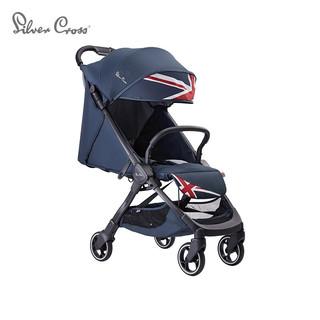 Silver Cross 银十字 婴儿车可坐可躺轻便儿童伞车 一键折叠宝宝手推车 新品CLIC英伦之美