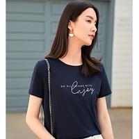 DUIBAI 对白 BDT999-1 女士短袖t恤