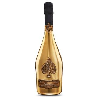 PLUS会员 : Champagne Armand de Brignac 黑桃A香槟   黑桃A黄金版香槟 750ml