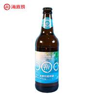 PLUS会员:海底捞 啤酒 淡爽拉格啤酒 瓶装 500ml*12瓶
