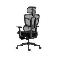 HBADA 黑白调 HDNY186BM 智尊E 电脑椅 带脚托