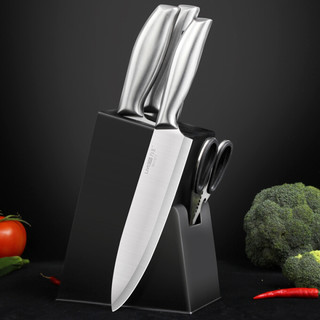 LIVEON 力王 力王家用不锈钢切菜刀厨师刀具套装