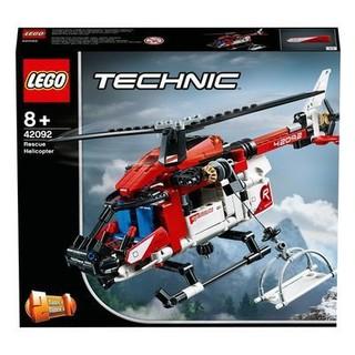 LEGO 乐高 科技系列 42092 救援直升机