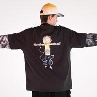 PEACEBIRD MEN 太平鸟风尚男装 Rick&Morty联名款 男士T恤 B2DAB2160