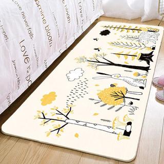 床边地毯 家用卧室客厅儿童房加厚毯 60x160 cm