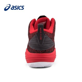ASICS 亚瑟士 ASICS亚瑟士实战篮球鞋男鞋NOVA FLOW运动鞋春季新款室外室内球鞋1063A028 红色-601 43.5