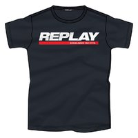 REPLAY 男式新品夏休闲字母圆领短袖T恤上装