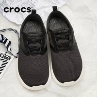Crocs 卡骆驰 Crocs卡骆驰男鞋运动鞋子2021春新品LiteRide酷网系带透气缓震轻便休闲鞋205678