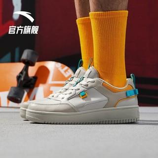 ANTA 安踏 安踏男鞋板鞋2021夏季新款简约运动休闲鞋