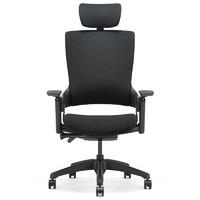 16日0点:UE 永艺 Mellet 人体工学椅(经典黑布黑框)