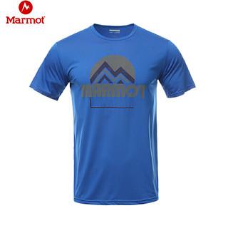 Marmot 土拨鼠  H44201 男士短袖T恤