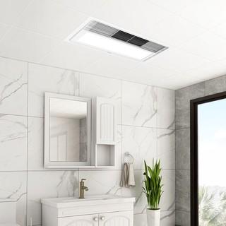 欧普照明浴霸led灯浴室风暖模块集成吊顶嵌入式暖风机多功能取暖