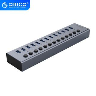 ORICO 奥睿科 工业级USB3.0集线器 13口-12v4a供电