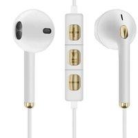 JH 晶华 Q1 半入耳式有线耳机 白金