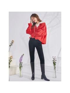 3COLOUR 三彩 三彩2020春季新款韩版大短款长袖炸街外套上衣