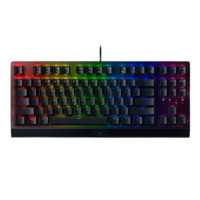 RAZER 雷蛇 黑寡妇蜘蛛 V3 竞技版 87键 有线机械键盘 绿轴