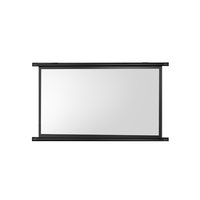 QBX 手动式壁挂投影幕布 白塑 60寸 4:3 长1.34m