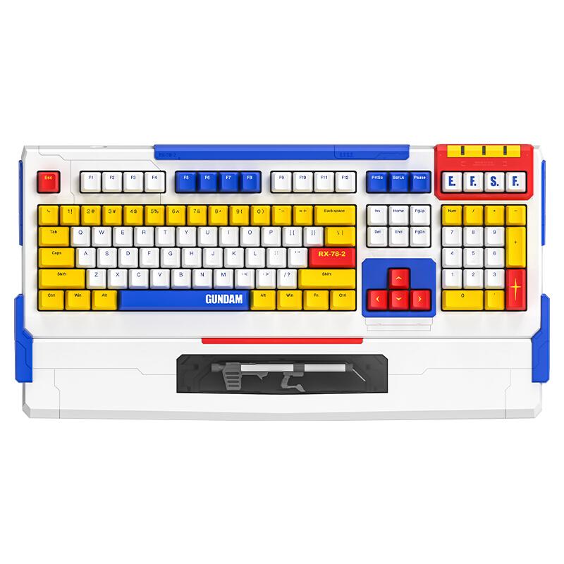 iKBC C210 108键 有线机械键盘 高达