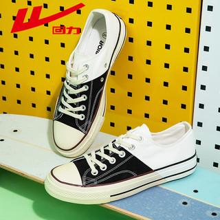 WARRIOR 回力 回力男鞋帆布鞋2021年春夏新款ins潮鞋学生时尚拼色经典情侣鞋子