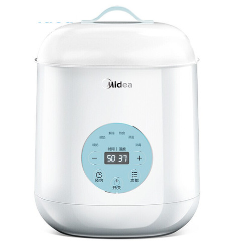 PLUS会员、有券的上:Midea 美的 2代恒温暖奶器 157mm