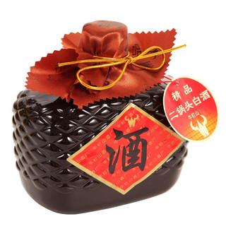Niulanshan 牛栏山 二锅头 精品 15 52%vol 清香型白酒 500ml*4瓶 整箱装