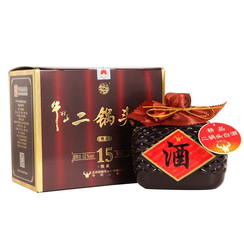 Niulanshan 牛栏山 二锅头 精品 15 52%vol 清香型白酒