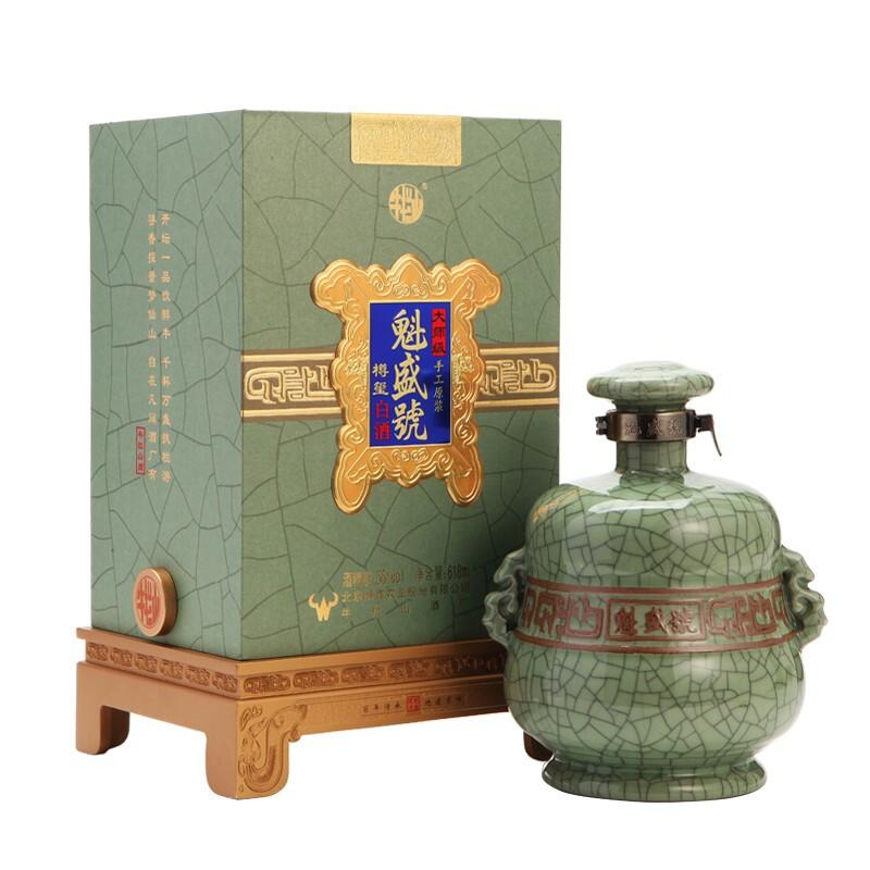 Niulanshan 牛栏山 二锅头 魁盛號 樽玺 大师级手工原浆 55%vol 清香型白酒