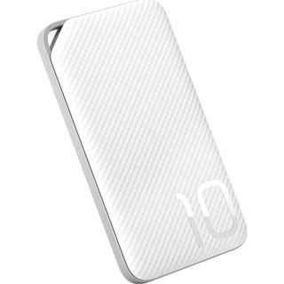 HONOR 荣耀 移动电源 10000mAh 标准版AP08L 充电宝 Micro USB单输入(白色)