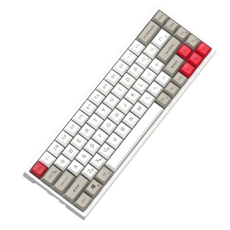 ThundeRobot 雷神 KC3068 68键 多模无线机械键盘
