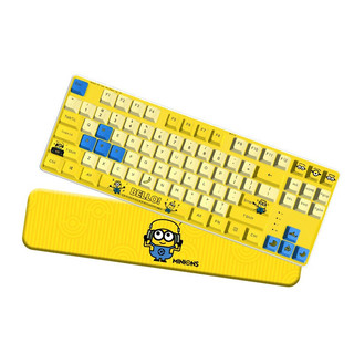 MACHENIKE 机械师 Minion MK700 小黄人联名款 无线键鼠套装 黄色