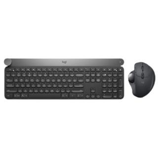 logitech 罗技 Craft 智能无线蓝牙键盘+Ergo轨迹球鼠标