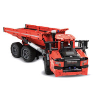 ONEBOT 爱其科技 积木工程车系列 铰接式矿山卡车