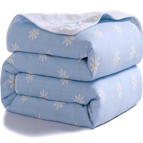 XANLENSSI 轩蓝仕 色织提花纯棉夏凉被 儿童款 150*120cm