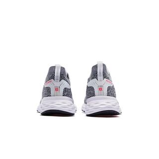QIAODAN 乔丹 风行九代 女子跑鞋 BM22200210 灰黑 36