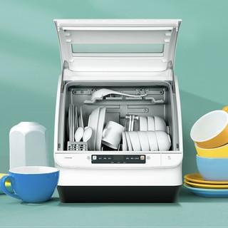 Haier 海尔 小小贝系列 ETW402WE 台式洗碗机